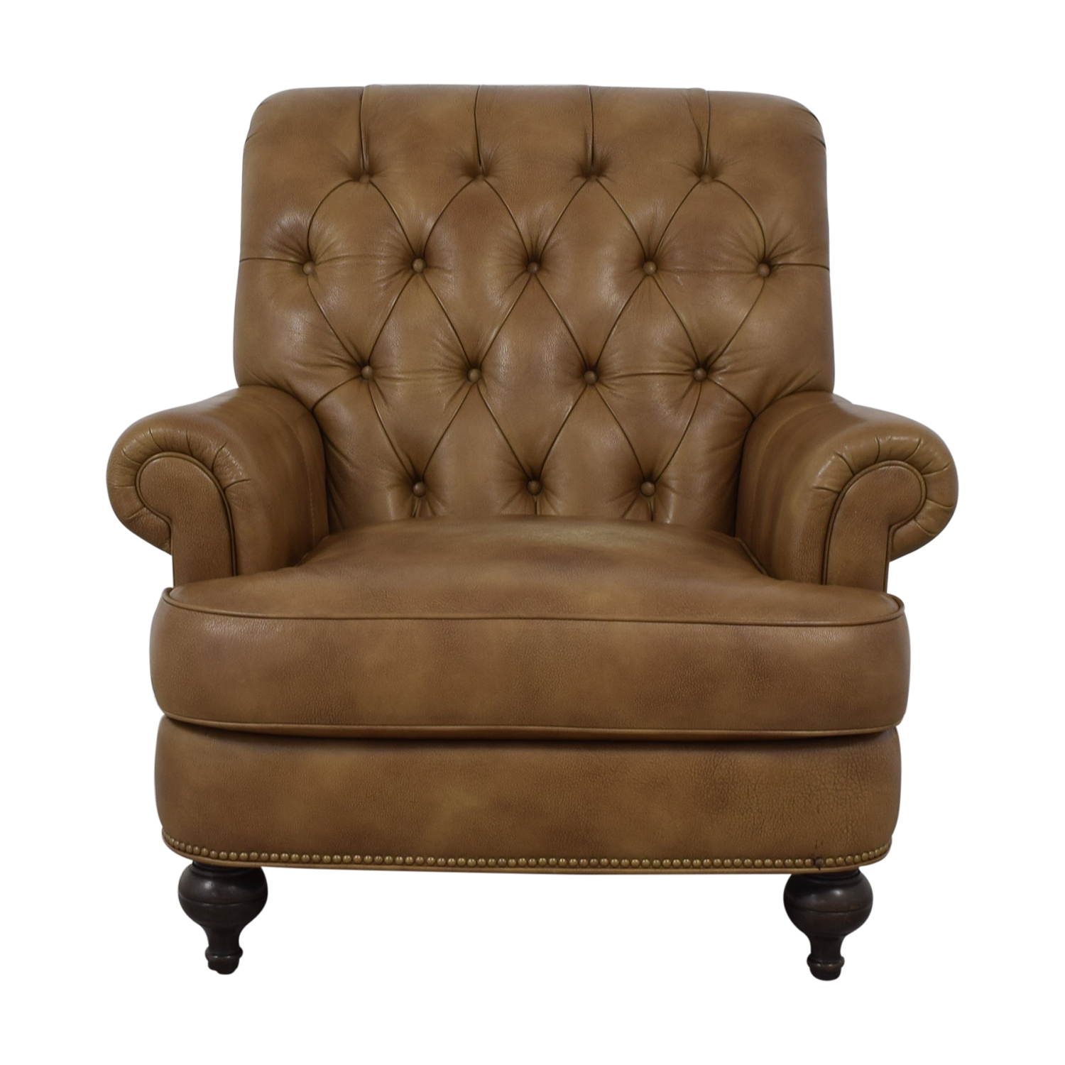 buy Ethan Allen Shawe Leather Chair Ethan Allen Sofas
