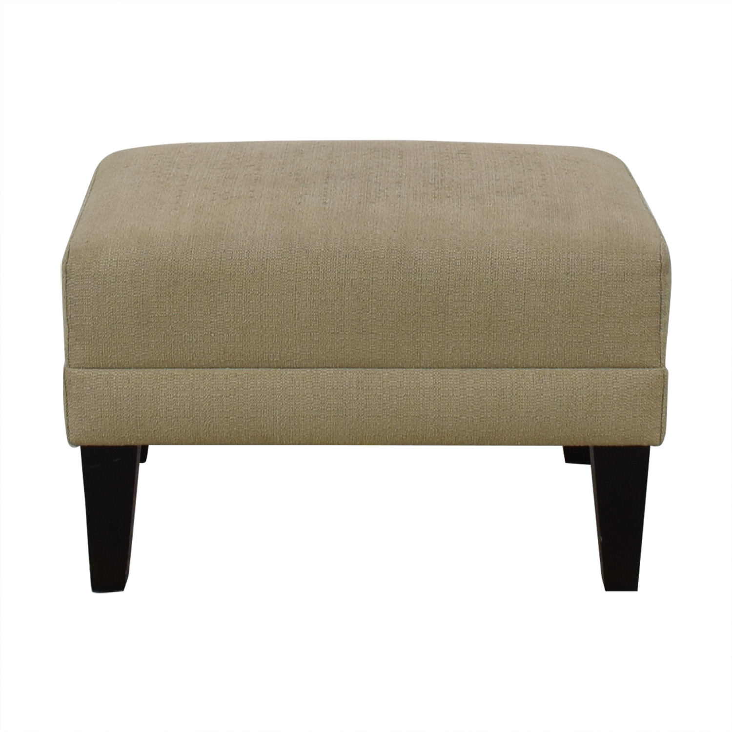 shop Crate & Barrel Margot Ottoman Crate & Barrel Ottomans