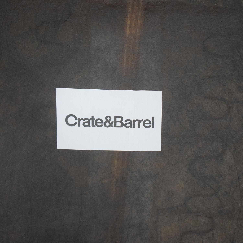 buy Crate & Barrel Margot Ottoman Crate & Barrel Chairs
