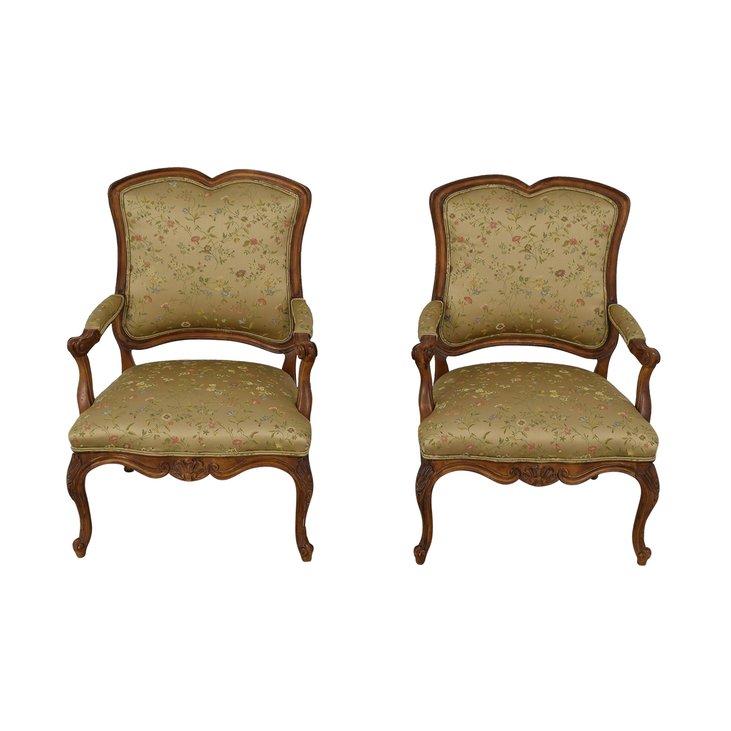 buy Century Furniture French Style Armchairs Century Furniture Accent Chairs