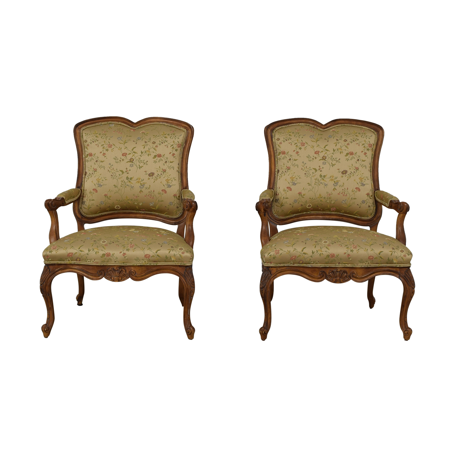 buy Century Furniture Century Furniture French Style Armchairs online
