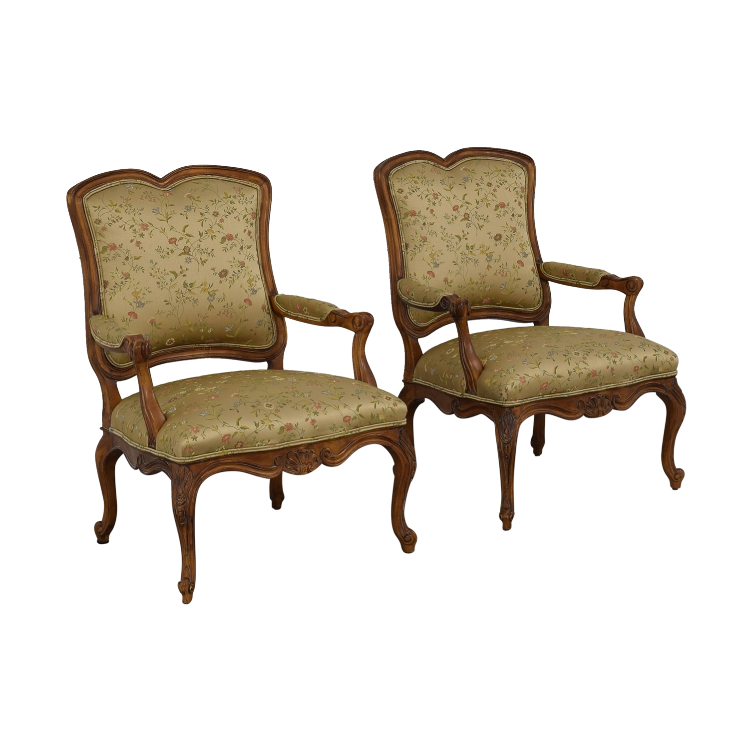 Century Furniture Century Furniture French Style Armchairs second hand