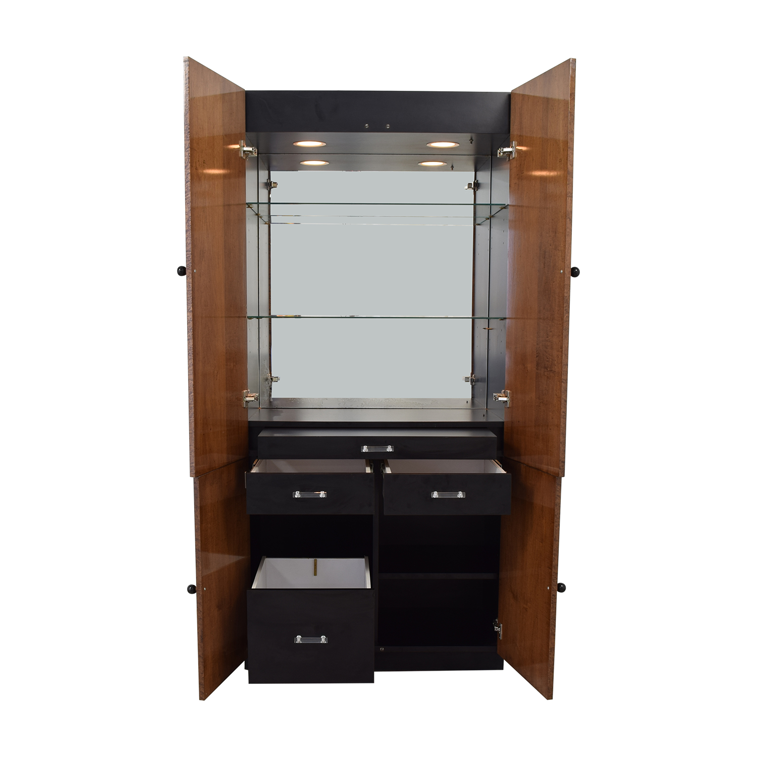 Manhattan Cabinetry Manhattan Cabinetry Tall Bar Cabinet on sale
