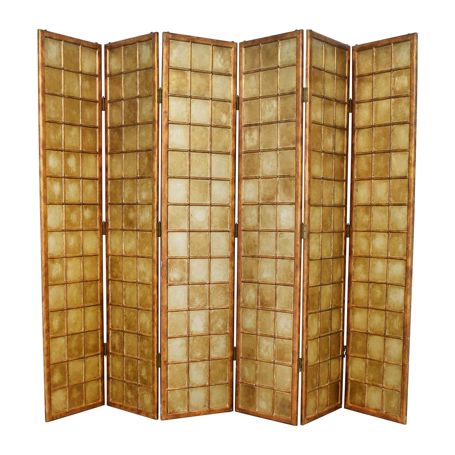 shop Bloomingdale's Six Panel Decorative Screen Bloomingdale's Dividers