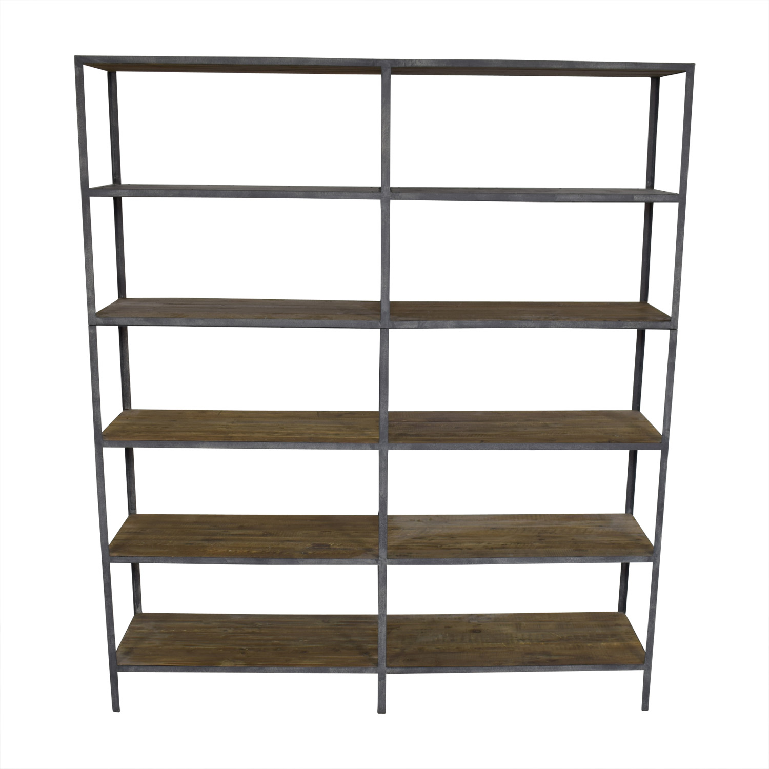 Restoration Hardware Vintage Industrial Double Shelving / Storage