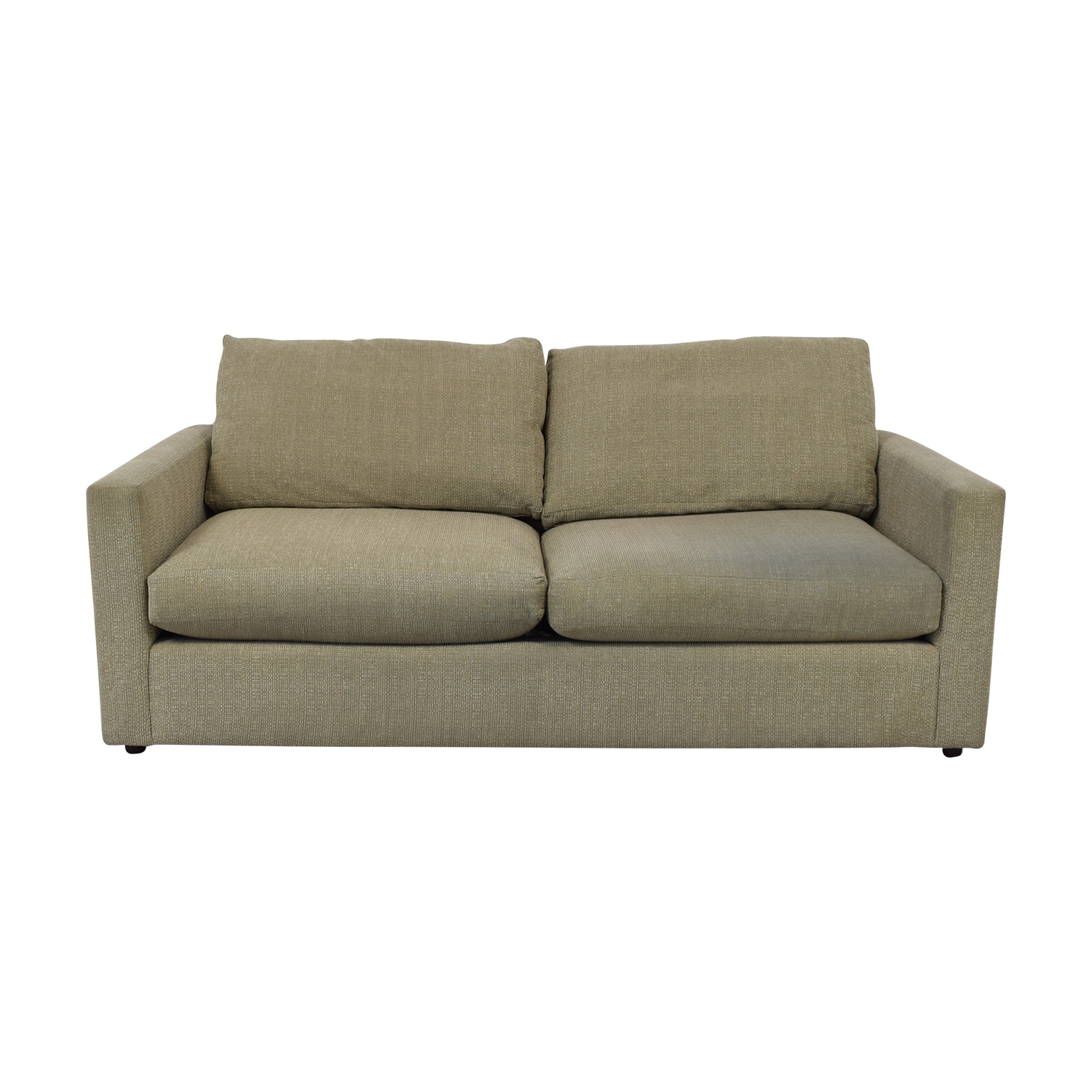 Macy's Macy's Two Cushion Sofa dimensions