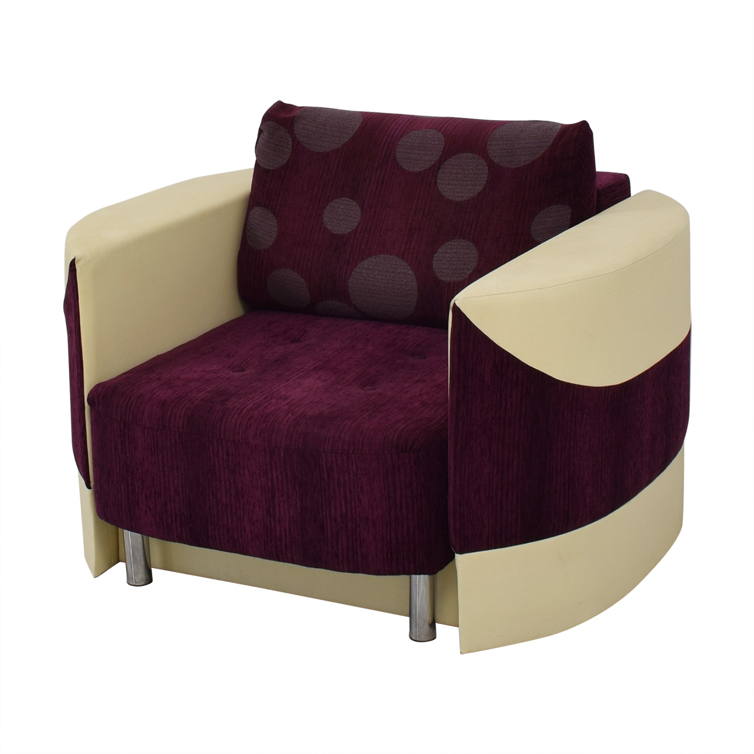 Accent Chair with Fold Down Bed