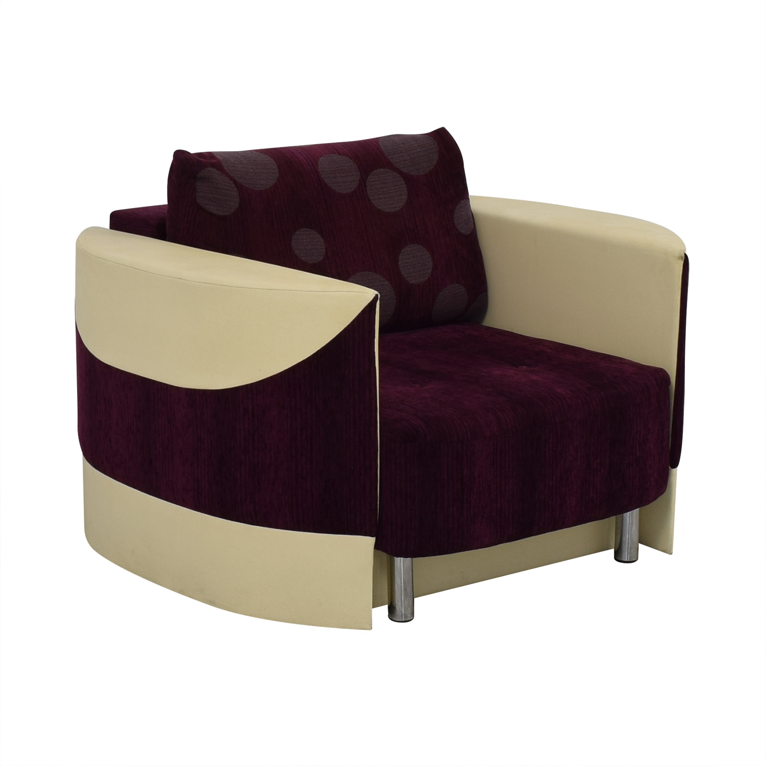 Accent Chair with Fold Down Bed for sale