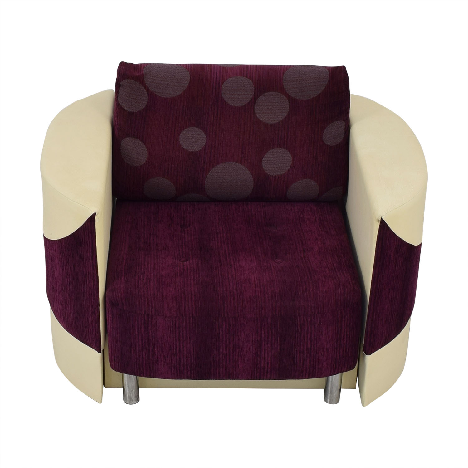 Accent Chair with Fold Down Bed on sale
