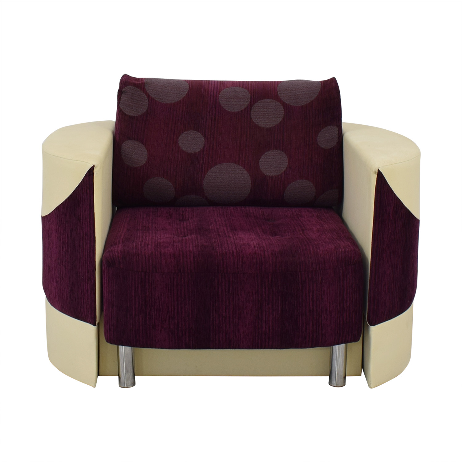 Accent Chair with Fold Down Bed sale