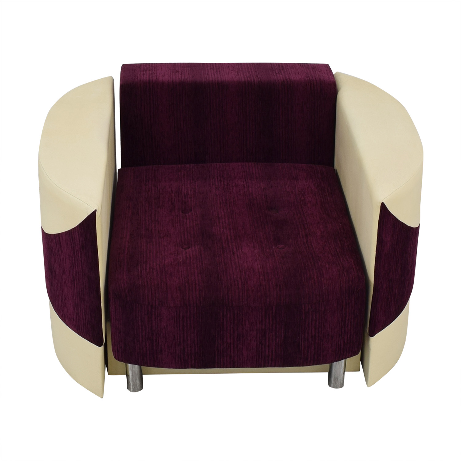 Accent Chair with Fold Down Bed second hand