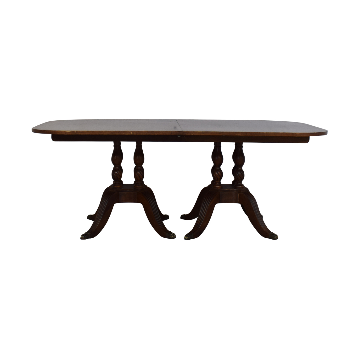 Drexel Heritage Drexel Heritage Dinner Table dark brown