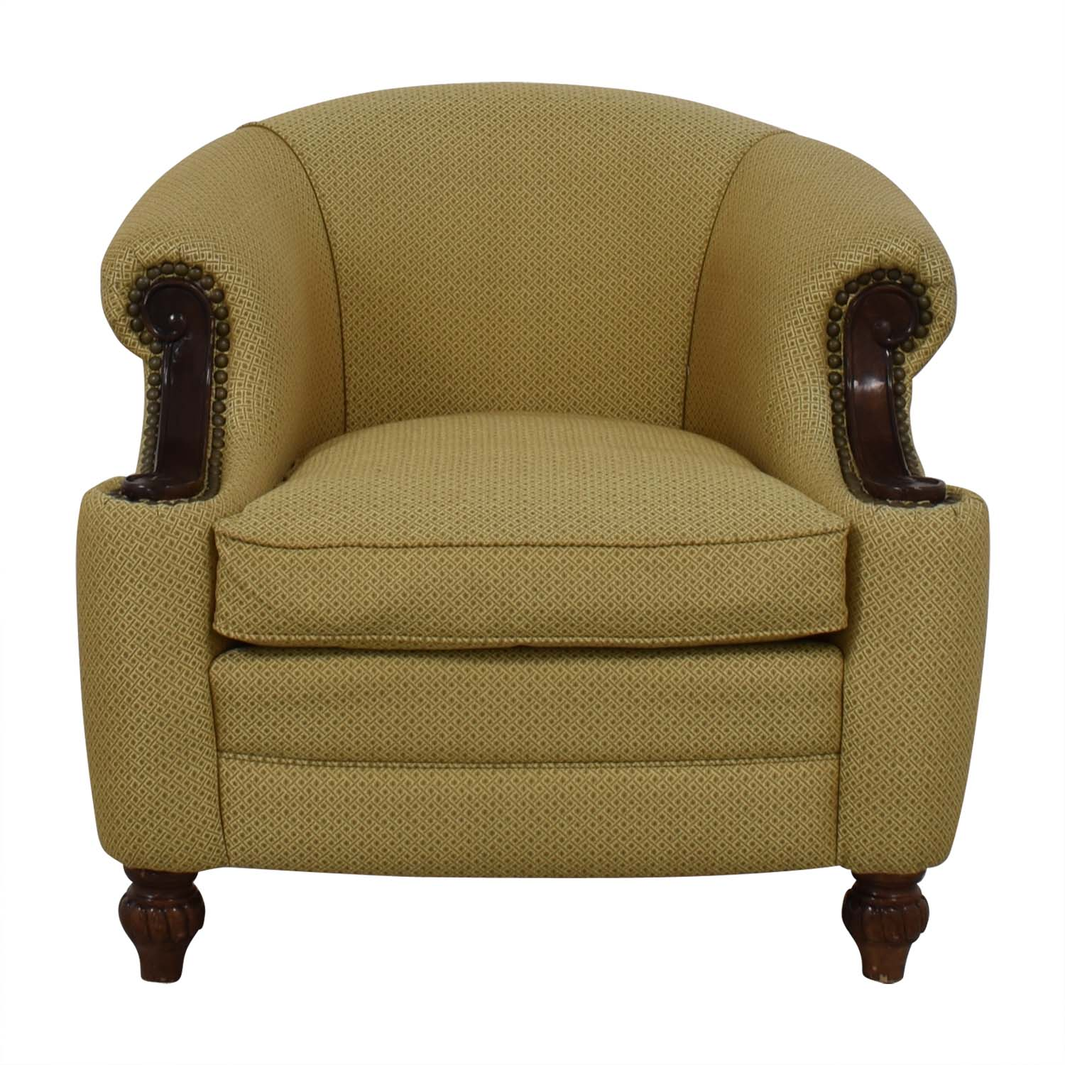 buy Kincaid Furniture Studded Classic Custom Accent Chair Kincaid Furniture Chairs