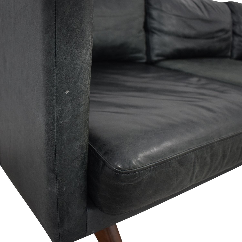 West Elm Brooklyn Leather Sofa West Elm