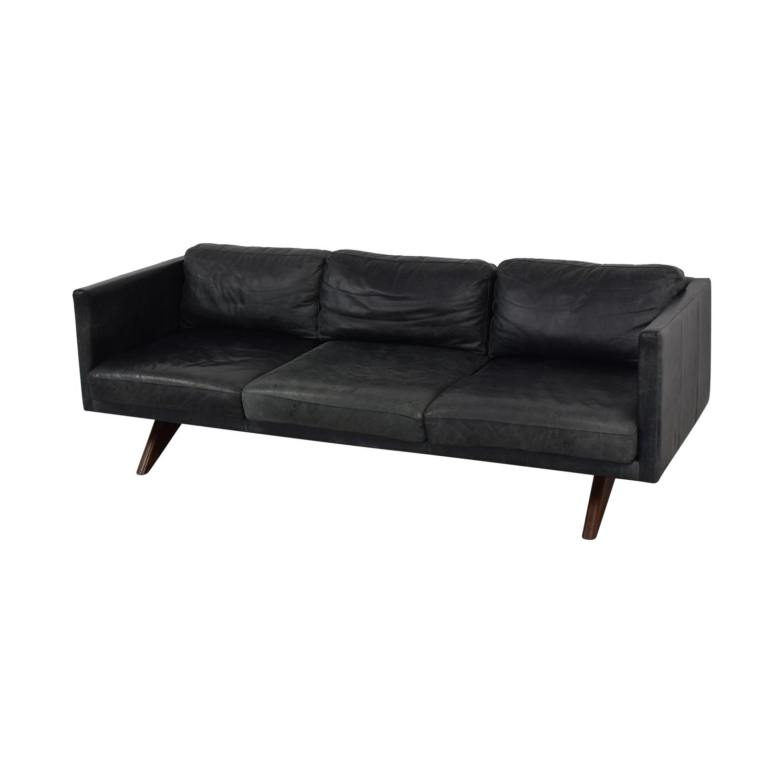 West Elm West Elm Brooklyn Leather Sofa nj