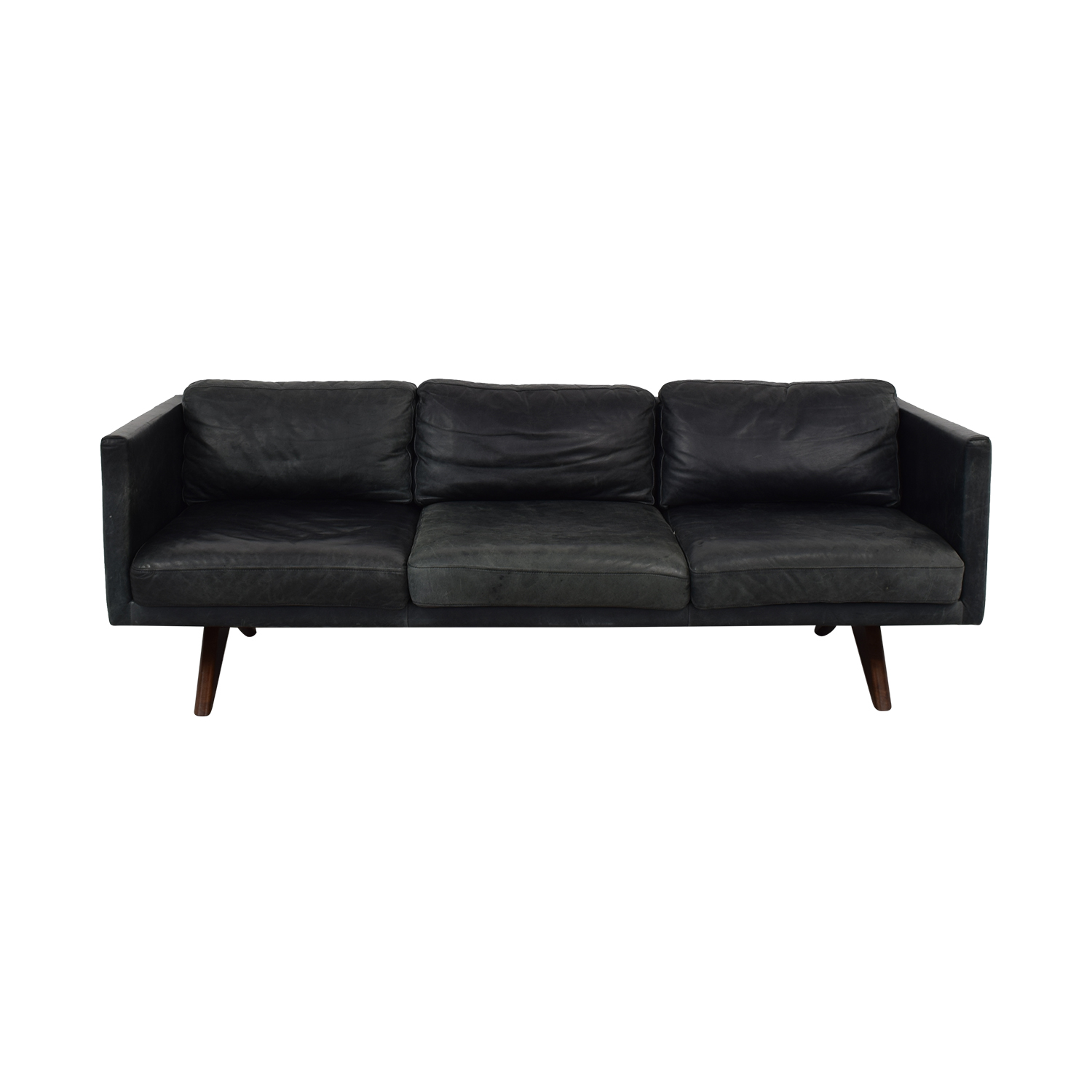 West Elm West Elm Brooklyn Leather Sofa second hand