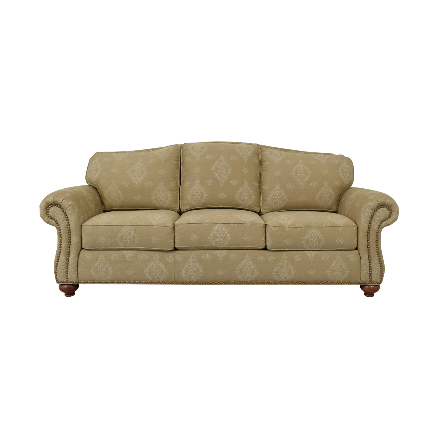 70 Off Ethan Allen Ethan Allen Beige Three Cushion
