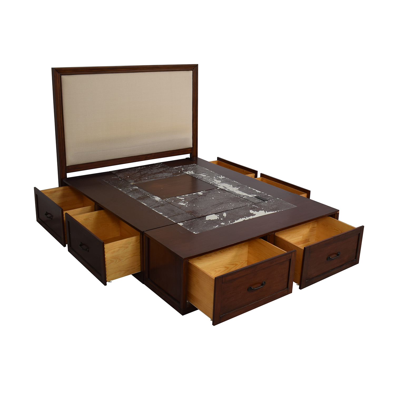 Pottery Barn Pottery Barn Queen Stratton Storage Bed nyc