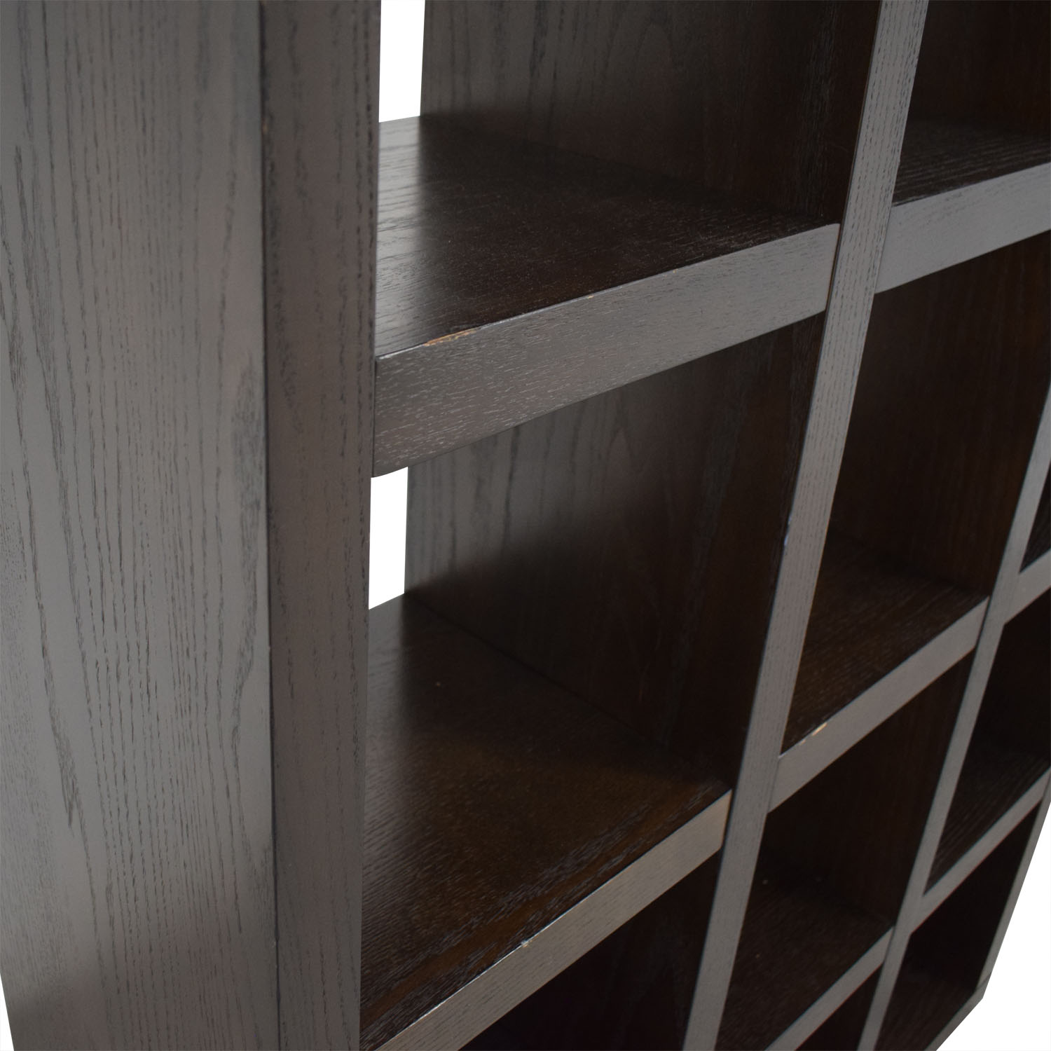 West Elm West Elm Tall Black Cube Bookshelf second hand
