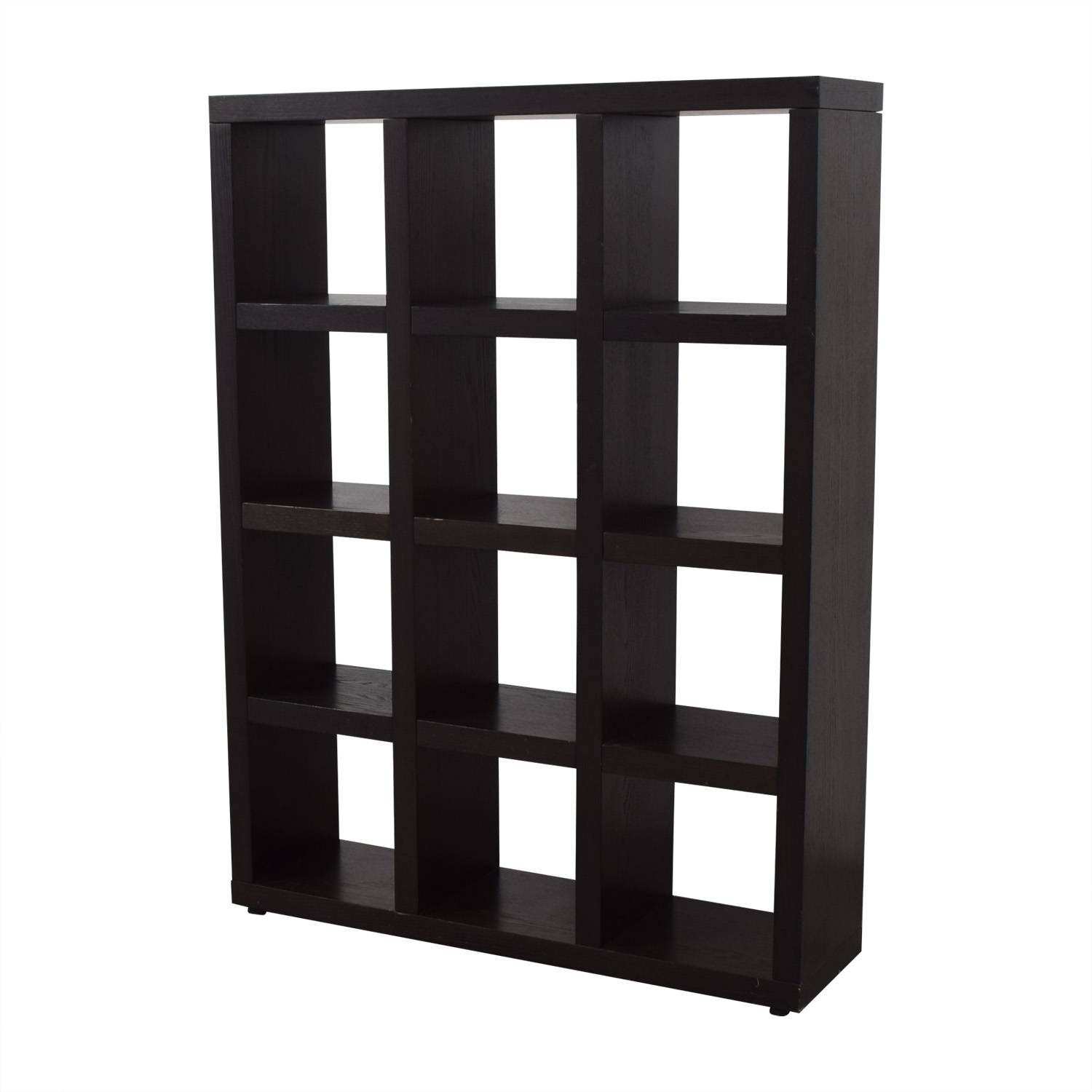West Elm West Elm Tall Black Cube Bookshelf coupon