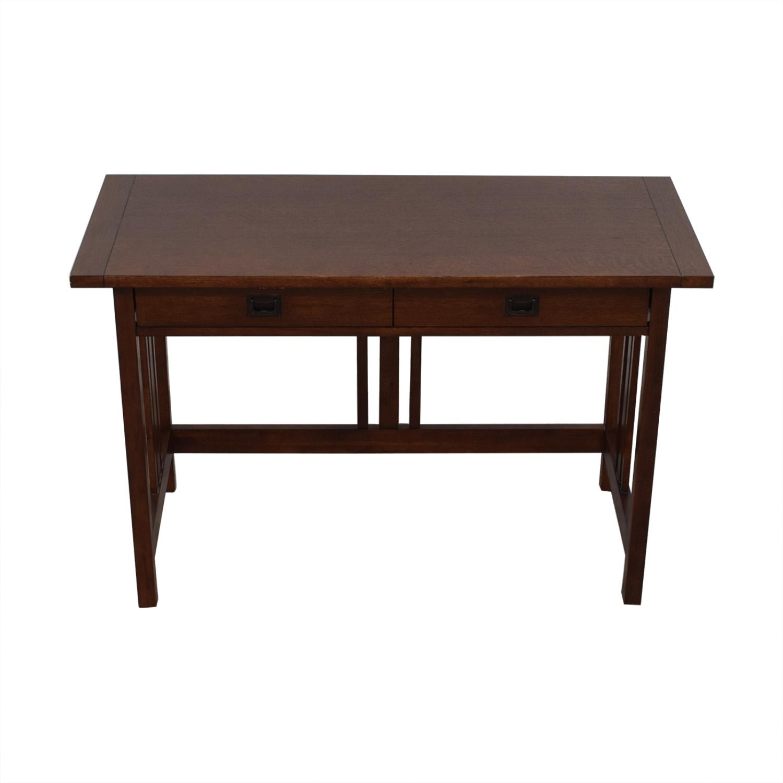 buy Crate & Barrel Mission Desk Crate & Barrel Tables