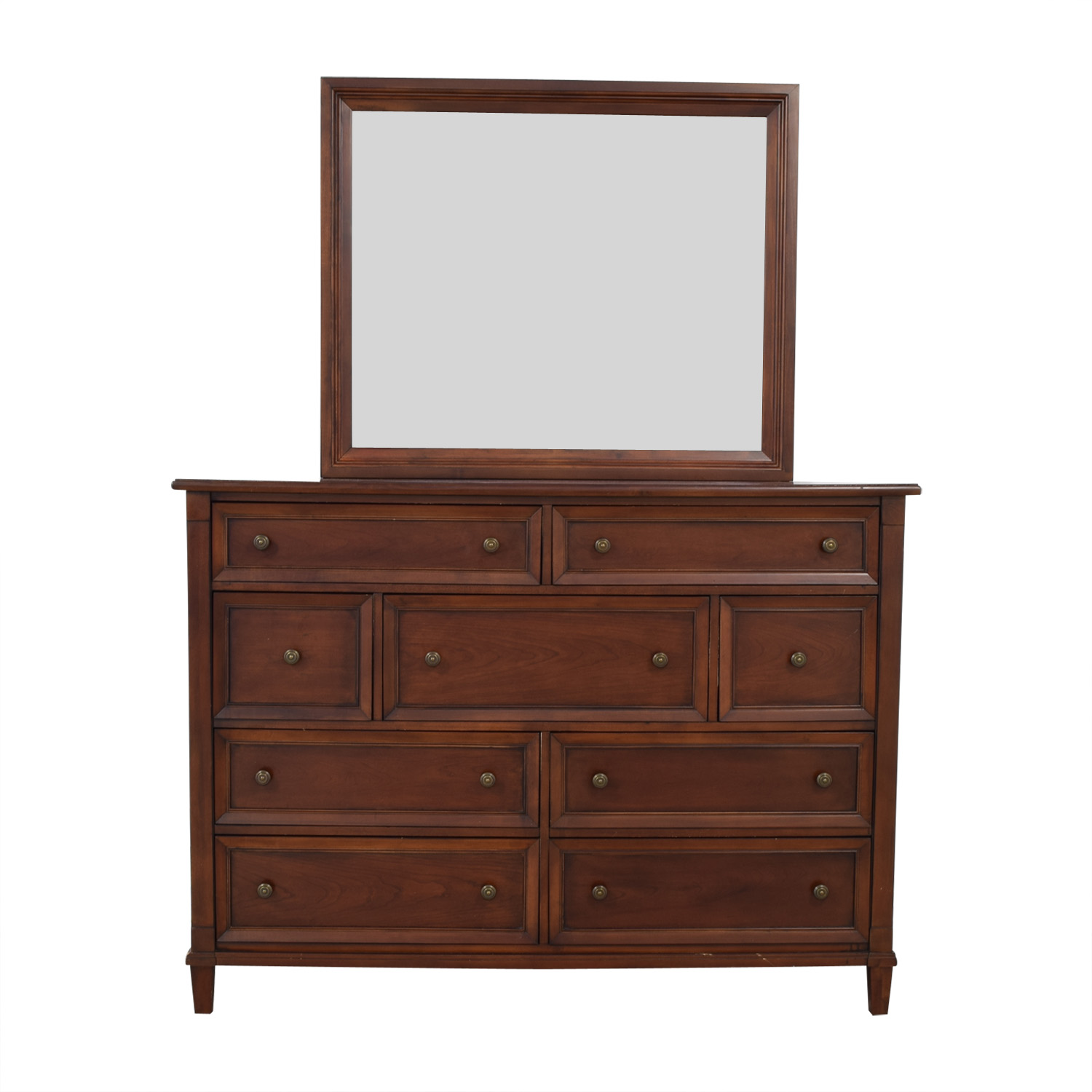Bassett Furniture Bassett Furniture Dresser with Mirror coupon