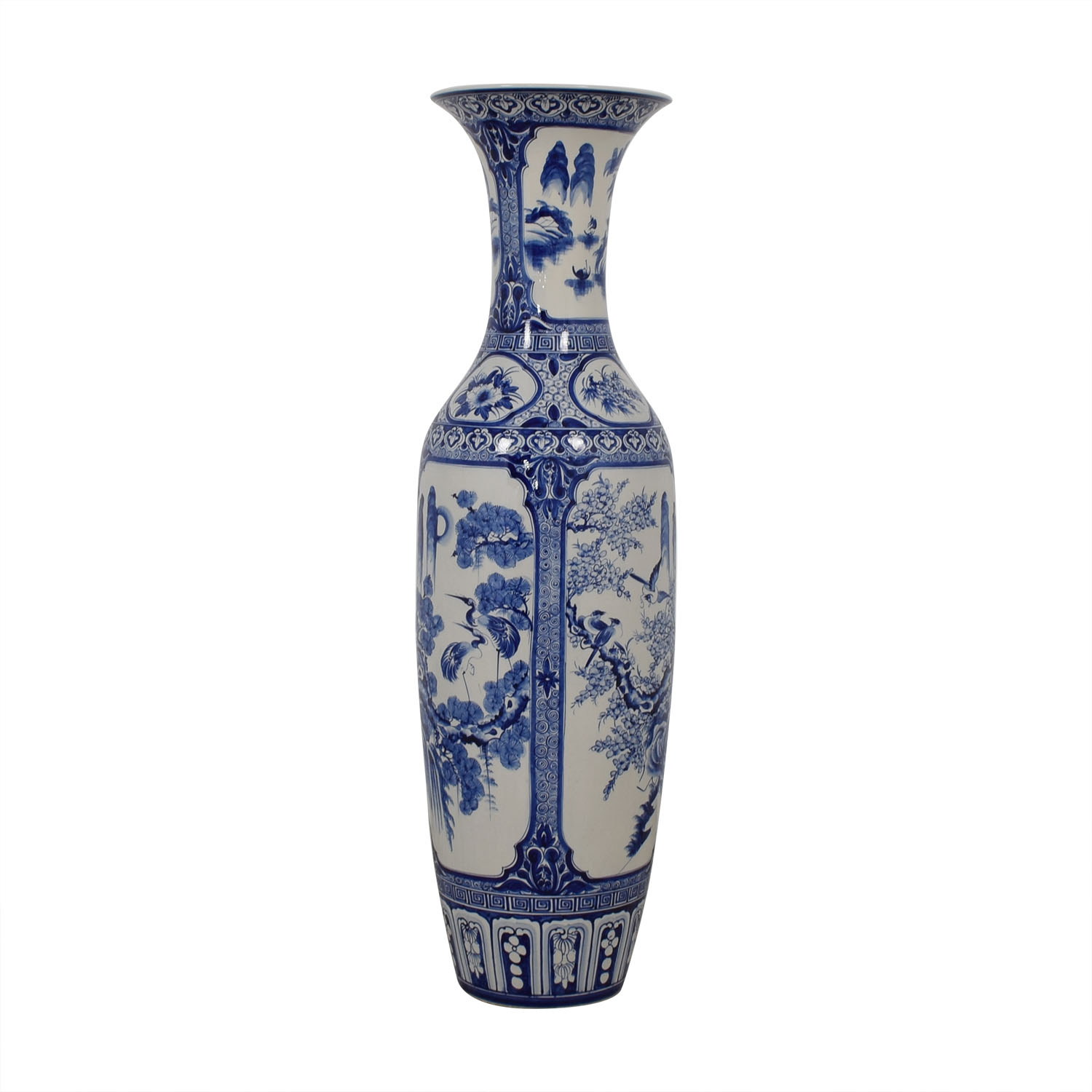 shop Shine by S.H.O. Chinese Floor Vase Shine by S.H.O Decor