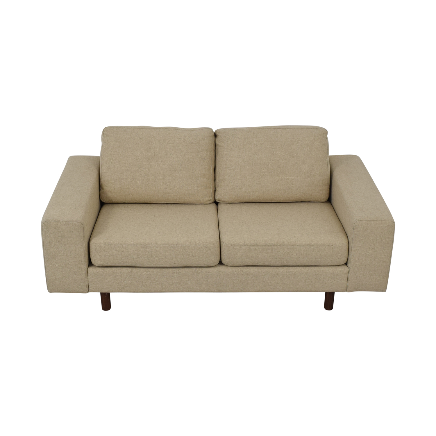 France and Son Platform Loveseat sale