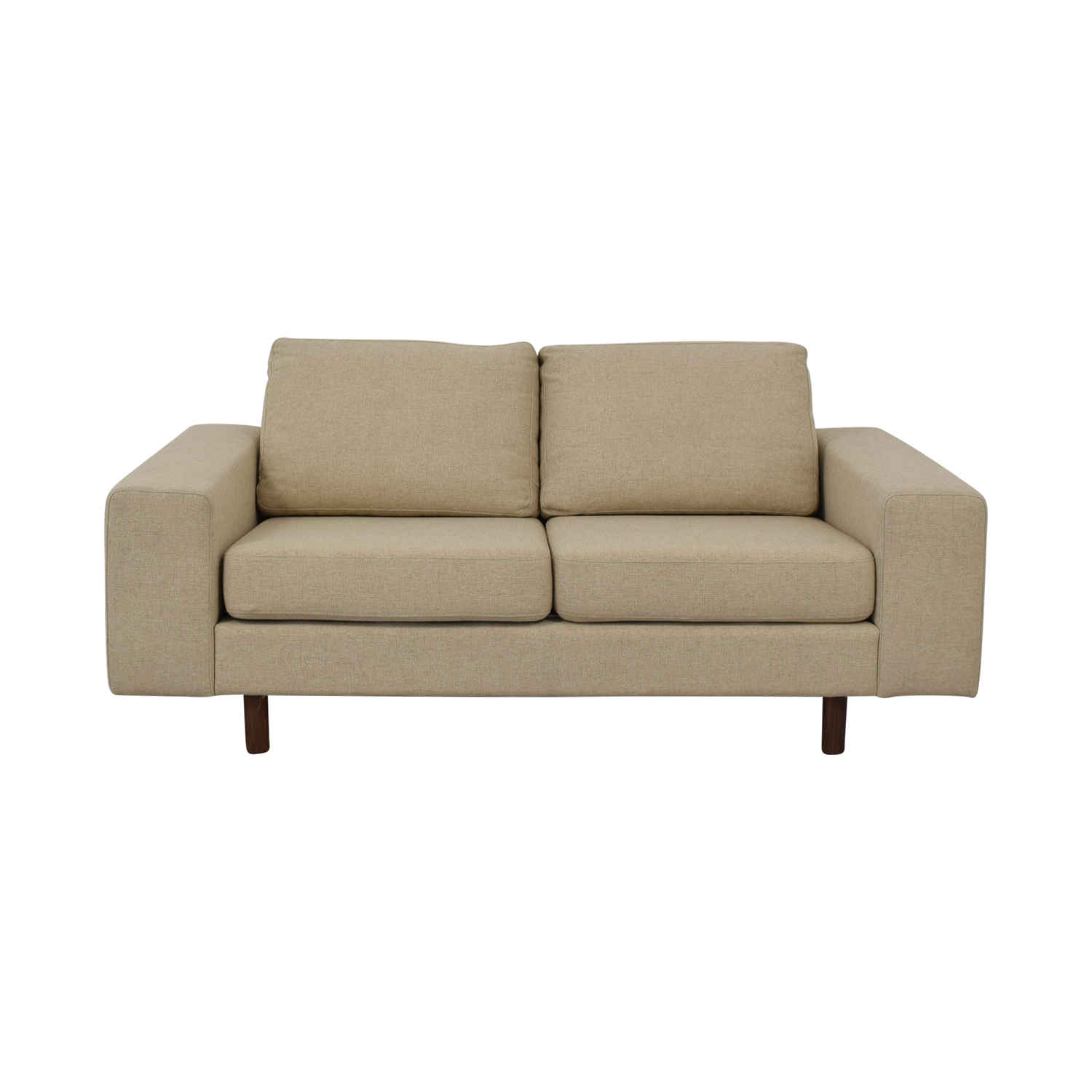 buy France and Son Platform Loveseat France and Son Sofas