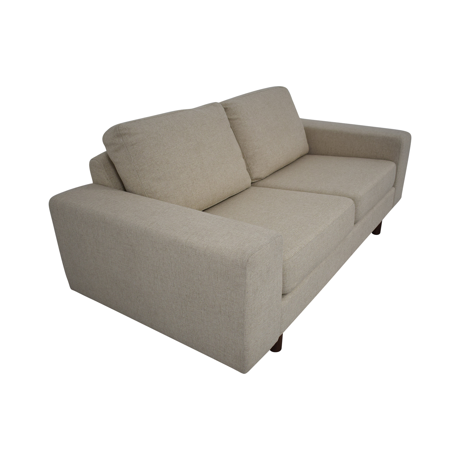 France and Son France and Son Platform Loveseat beige