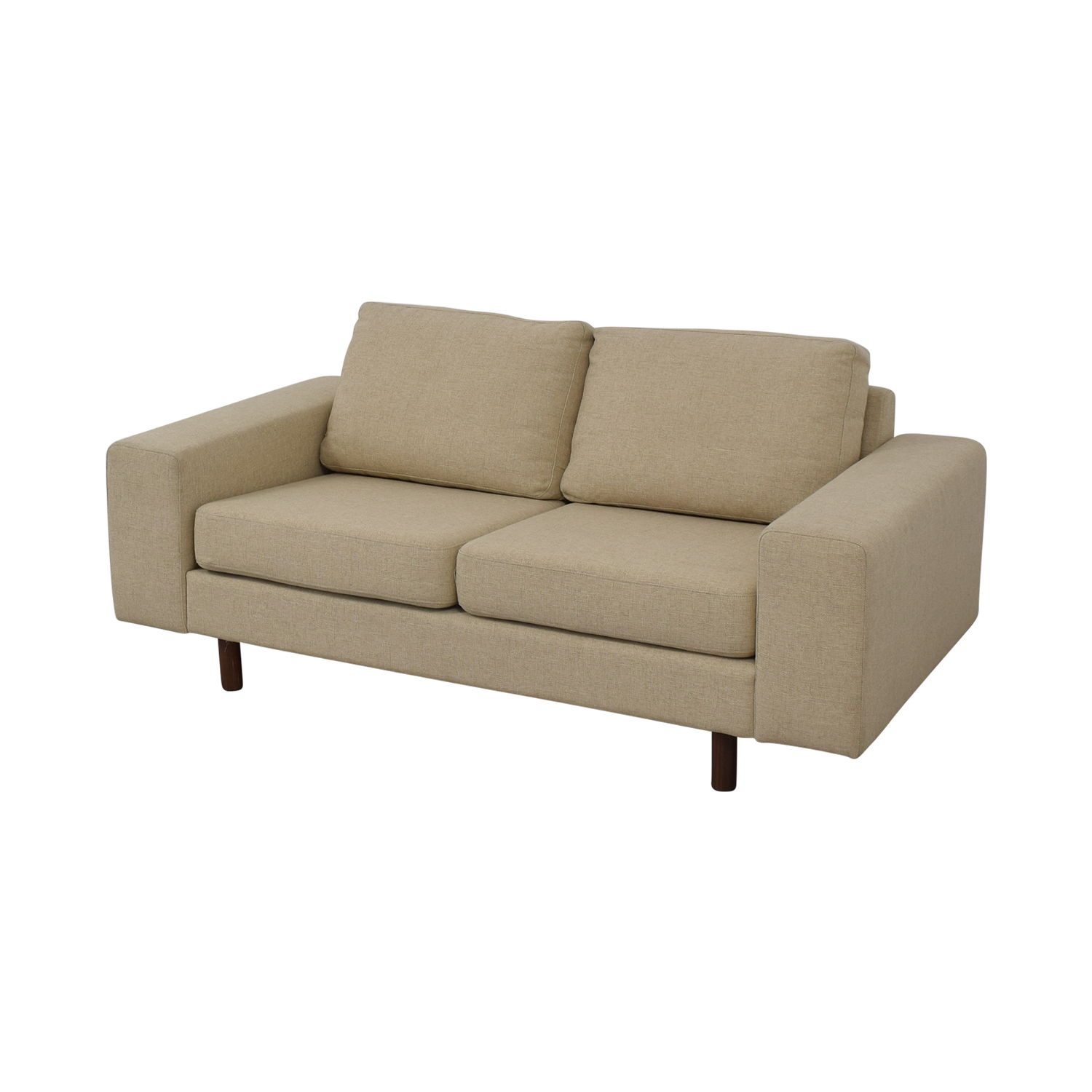 shop France and Son Platform Loveseat France and Son