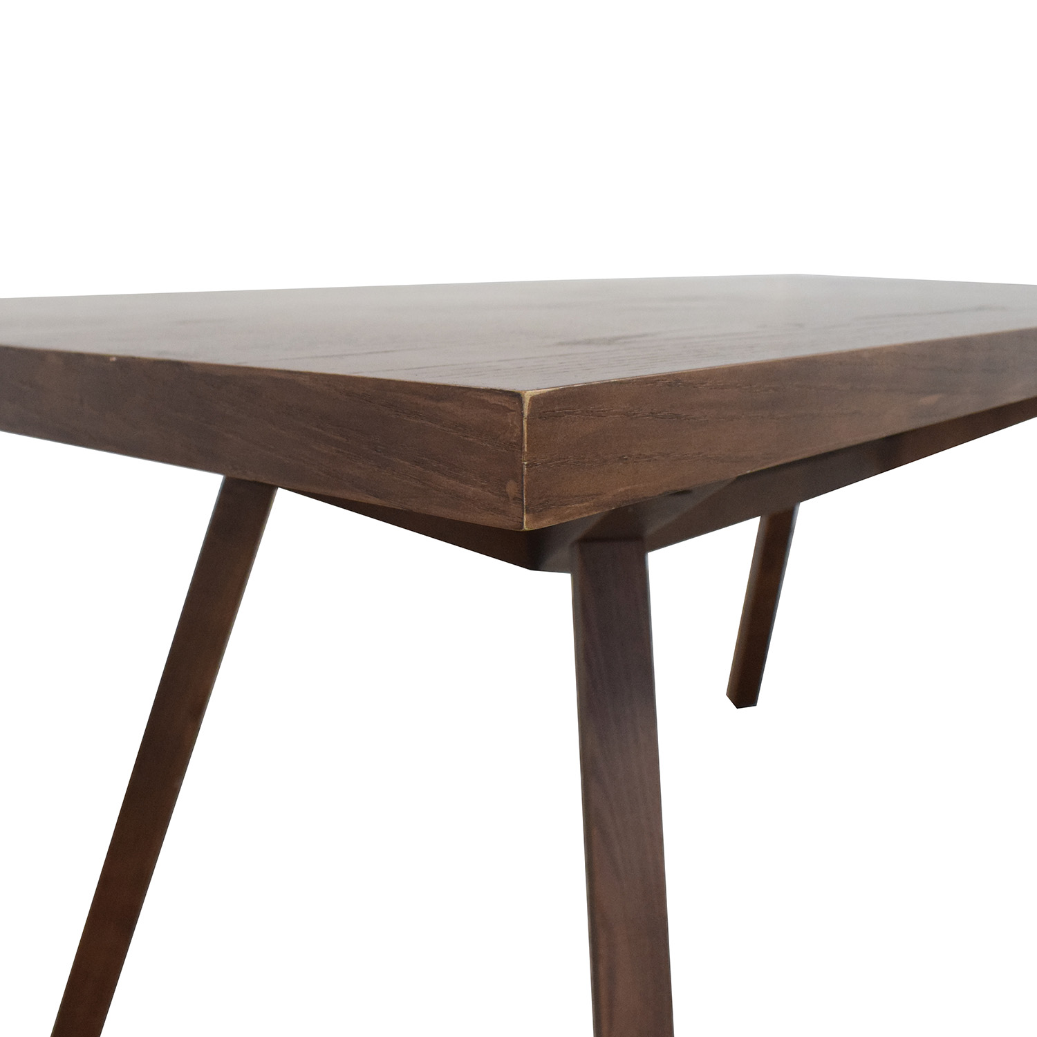 Wood Dining Table brown