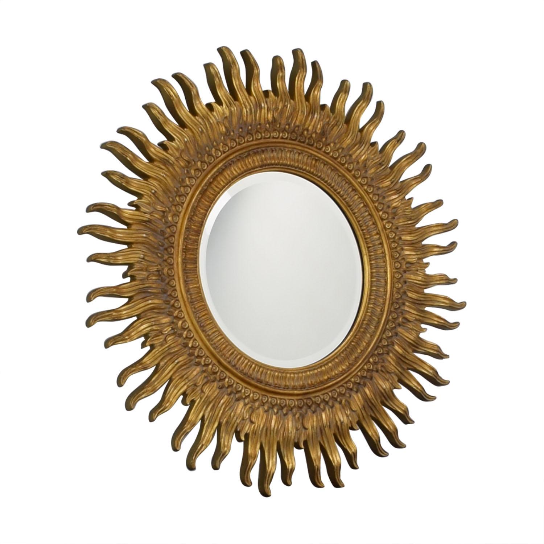 buy Ethan Allen Sunburst Mirror Ethan Allen Decor