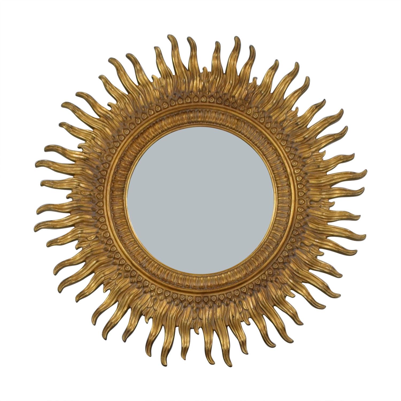 Ethan Allen Ethan Allen Sunburst Mirror nyc