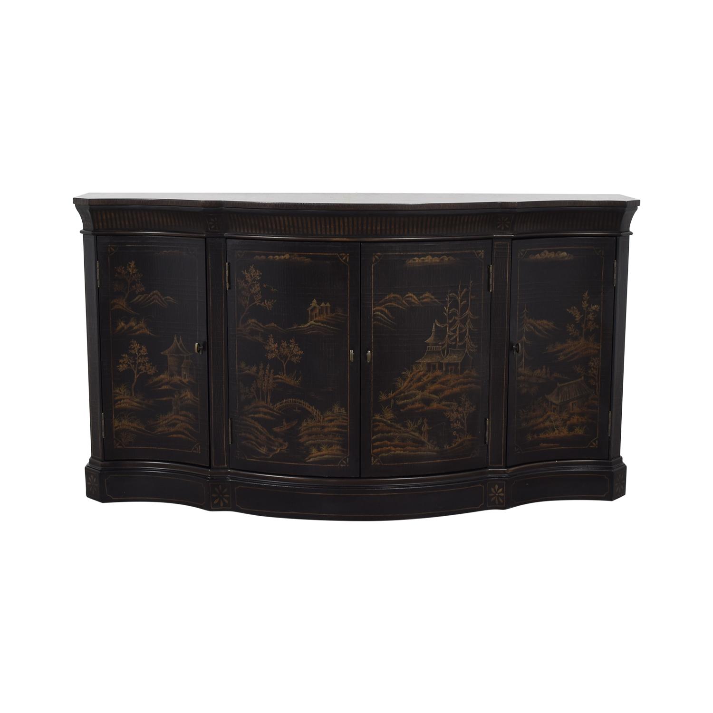 Ethan Allen Vivianne Serpentine Console / Cabinets & Sideboards