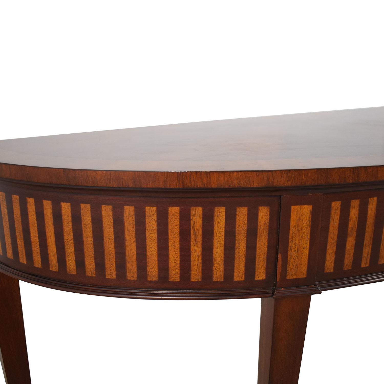 shop Ethan Allen Ethan Allen Newman Demilune Sofa Table online