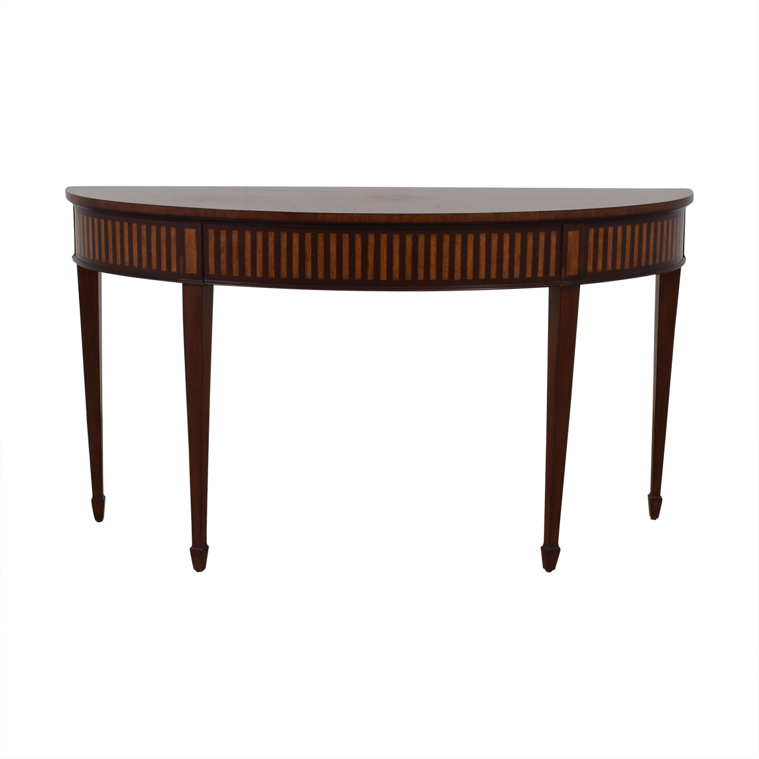 Ethan Allen Newman Demilune Sofa Table sale