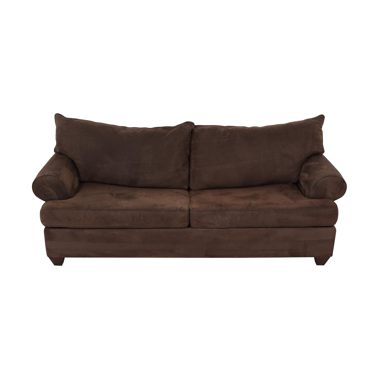 Bauhaus Furniture Rochester Java Roll-Arm Sofa Bed Bauhaus Furniture