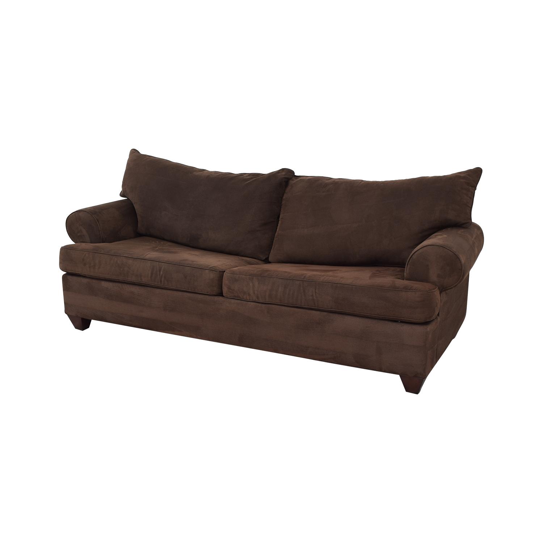 Bauhaus Furniture Bauhaus Furniture Rochester Java Roll-Arm Sofa Bed price