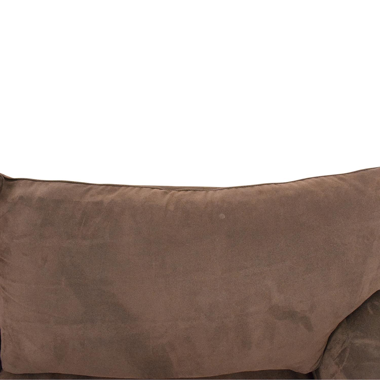 shop Bauhaus Furniture Bauhaus Furniture Rochester Java Roll-Arm Sofa Bed online