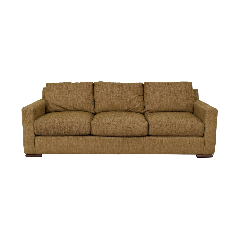 Custom Three Cushion Fabric Sofa sale