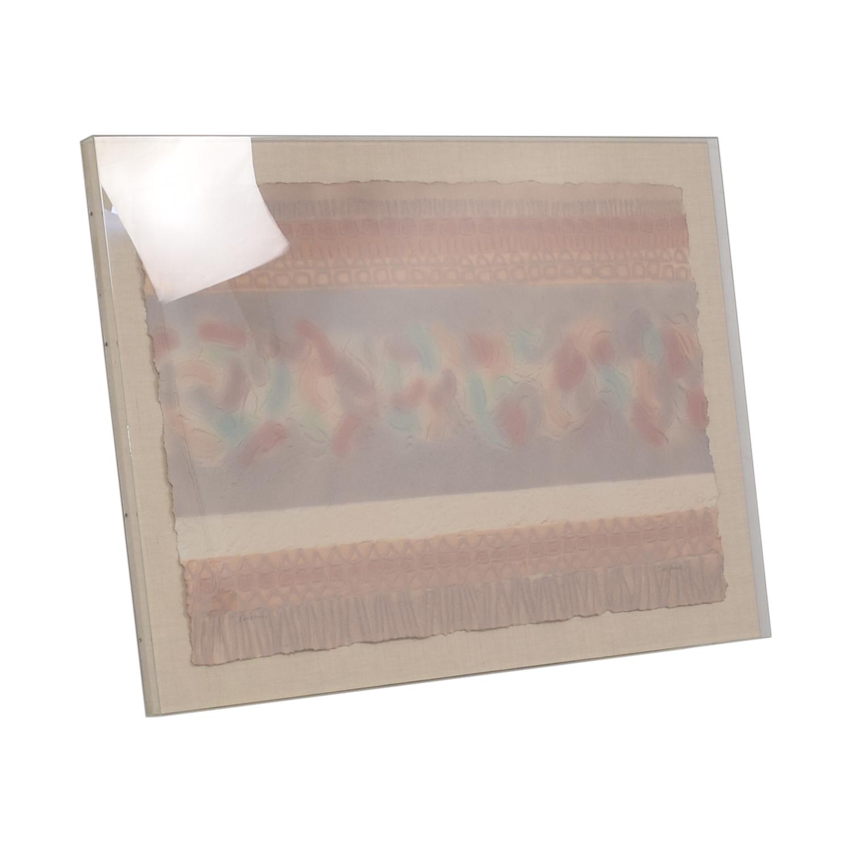 Framed Textured Original Artwork for sale