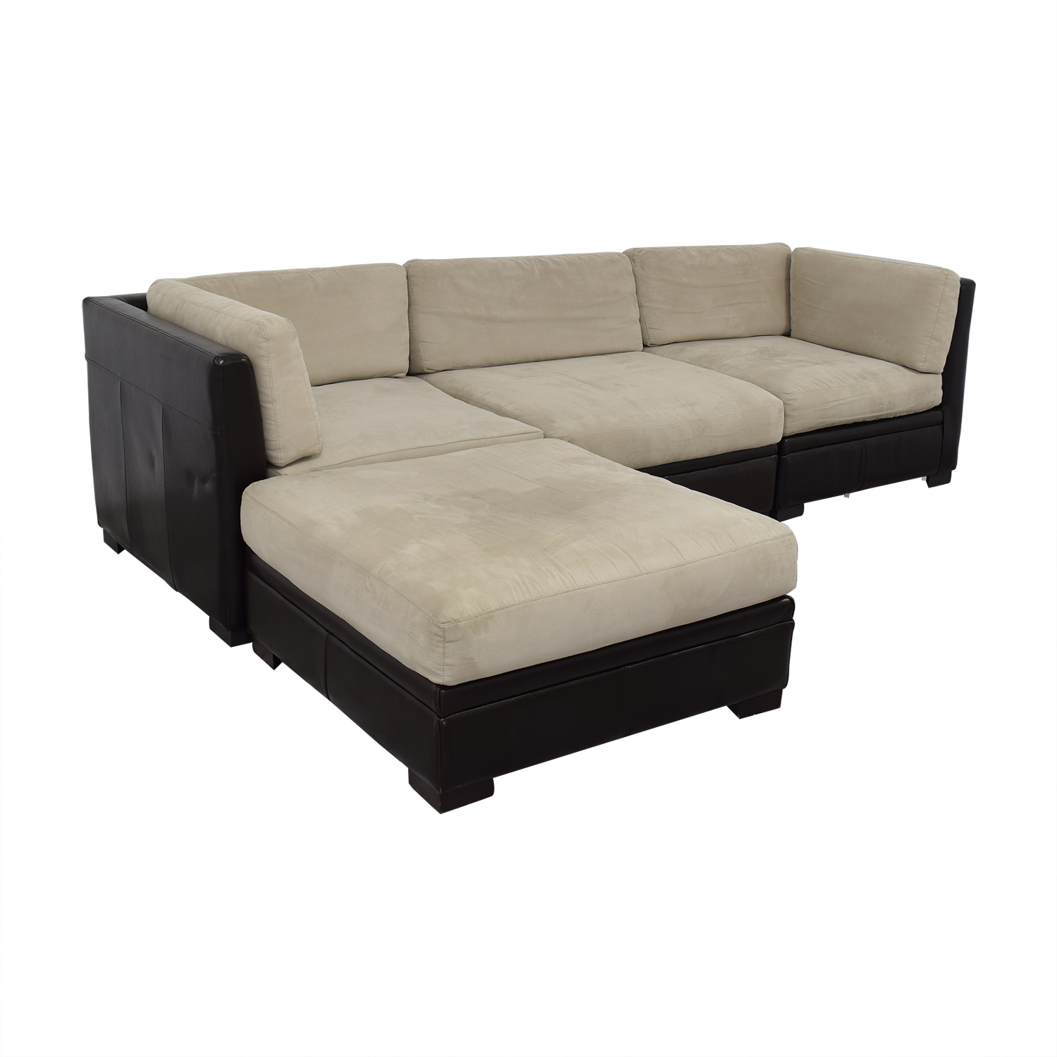 Fine 53 Off Macys Macys Sectional With Ottoman Sofas Gmtry Best Dining Table And Chair Ideas Images Gmtryco