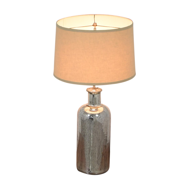 Restoration Hardware Restoration Hardware 19th C. Vintage Mercury Glass Medium Table Lamp nj