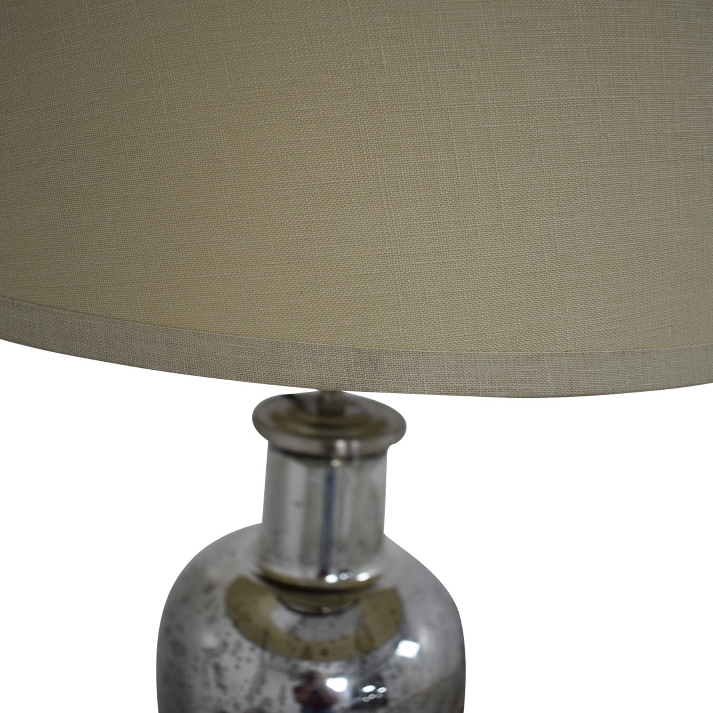 Restoration Hardware Restoration Hardware 19th C. Vintage Mercury Glass Medium Table Lamp Lamps
