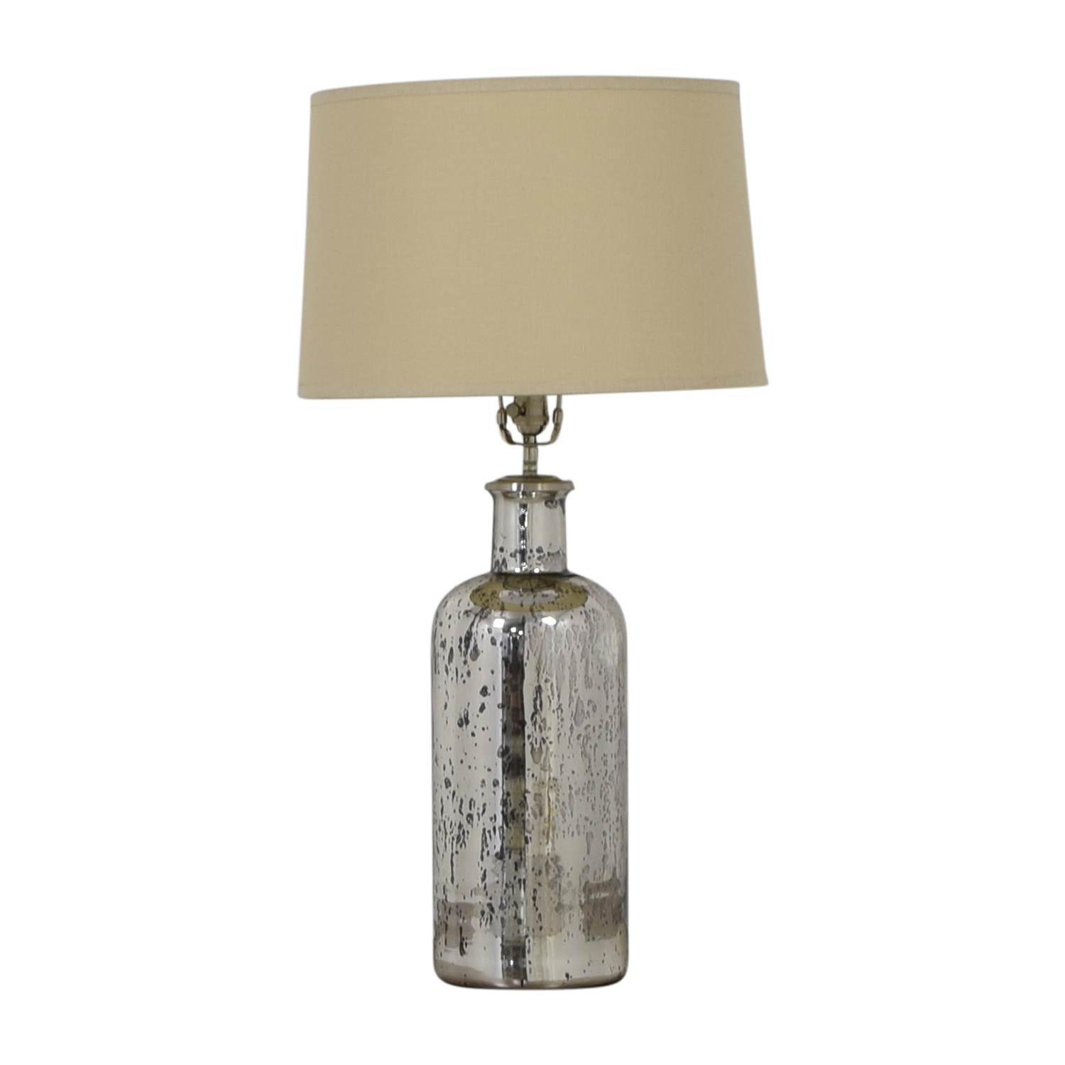 Restoration Hardware 19th C. Vintage Mercury Glass Medium Table Lamp sale