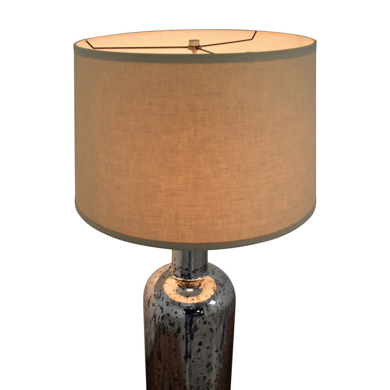 Restoration Hardware Restoration Hardware 19th C. Vintage Mercury Glass Medium Table Lamp Lamps