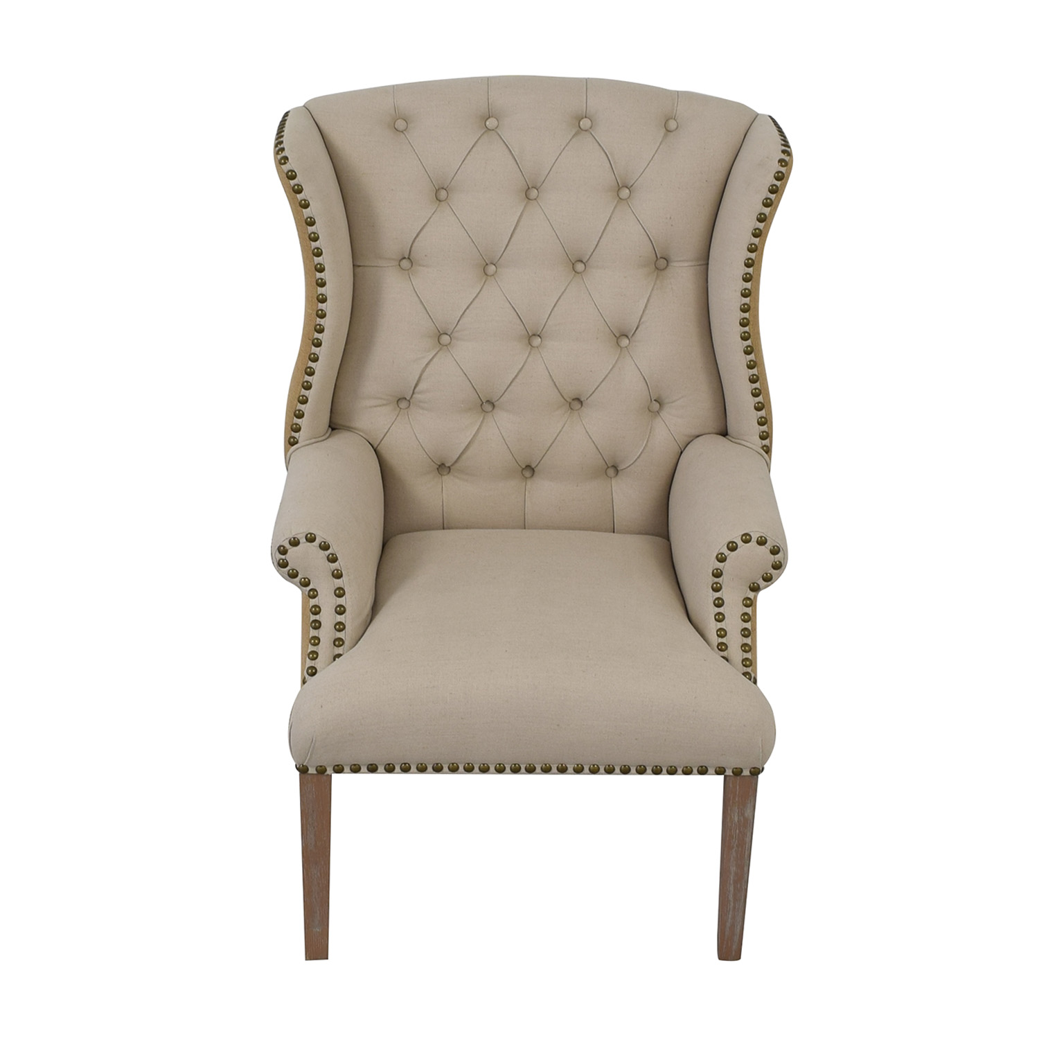 Hickory Chair Hickory Chair Traditional Lounge Chair beige