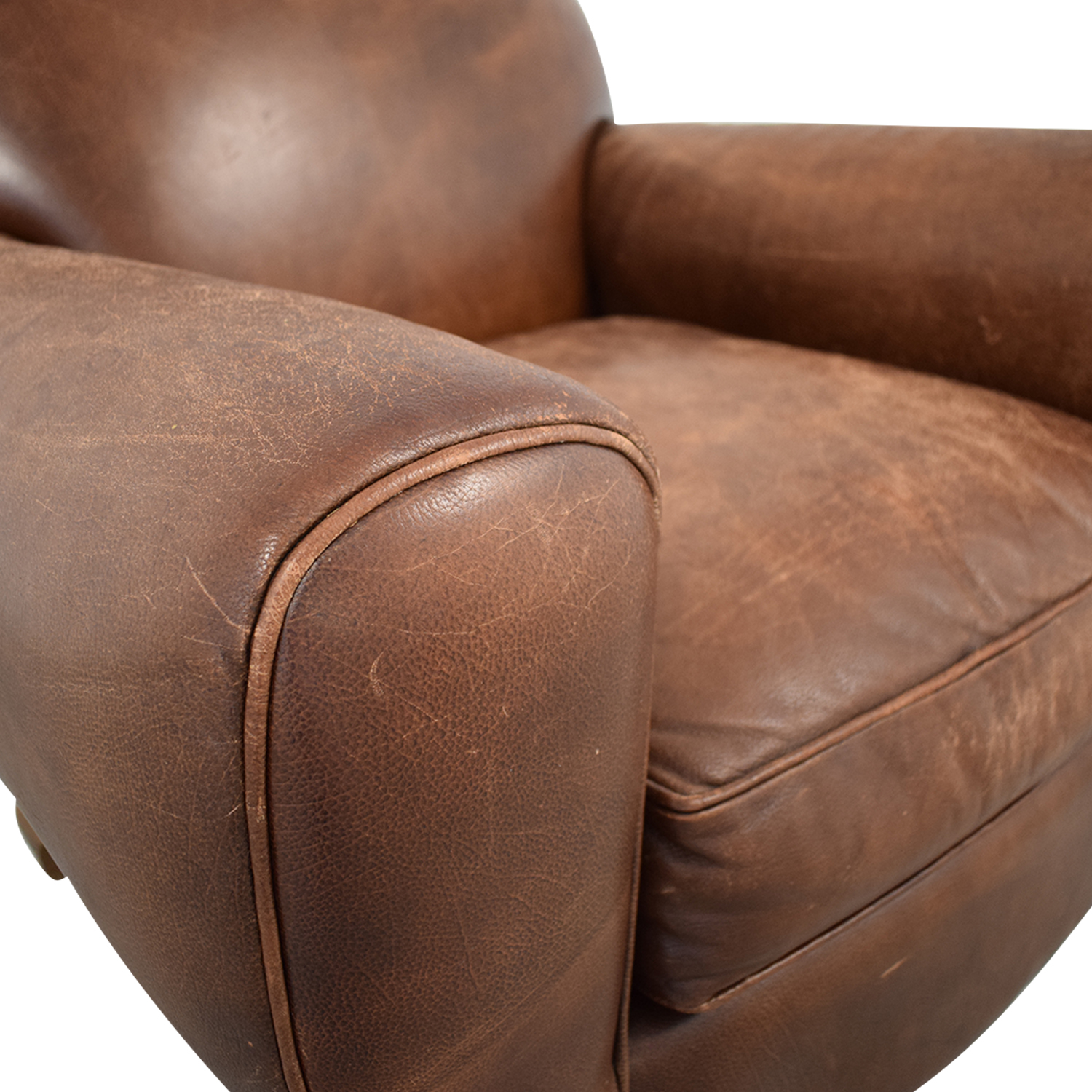 Leather Club Chair nj