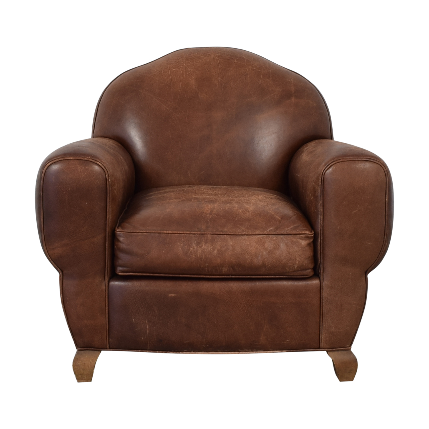 buy Leather Club Chair  Accent Chairs